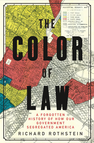 Book cover - The color of law