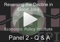 [Play: Panel 2 - Q&A]