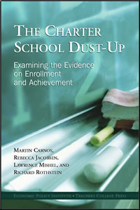 The Charter School Dust-Up: Examining the evidence on enrollment and achievement