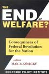 The End of Welfare? (book cover)